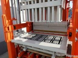 Блок машина для производства тротуарной плитки, бордюров R30 - фото 3