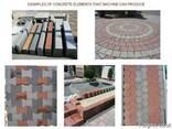 Блок машина для производства тротуарной плитки, бордюров R30 - фото 8