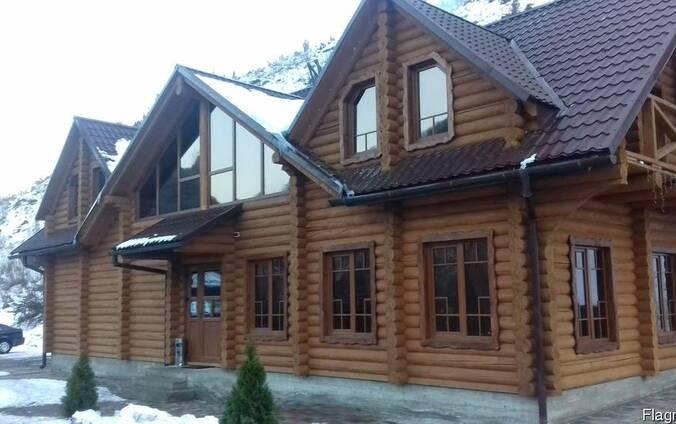 Деревяные дома.
