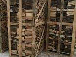 Kiln-dried firewood of hardwood (Oak, birch, ash, maple) - photo 1