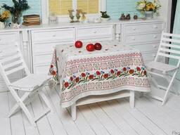Скатерти, полотенца в украинском стиле, хлопок - фото 4