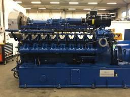 Б/У газовый двигатель MWM TBG 604-V-12, 1988 г. , 590 Квт - photo 8