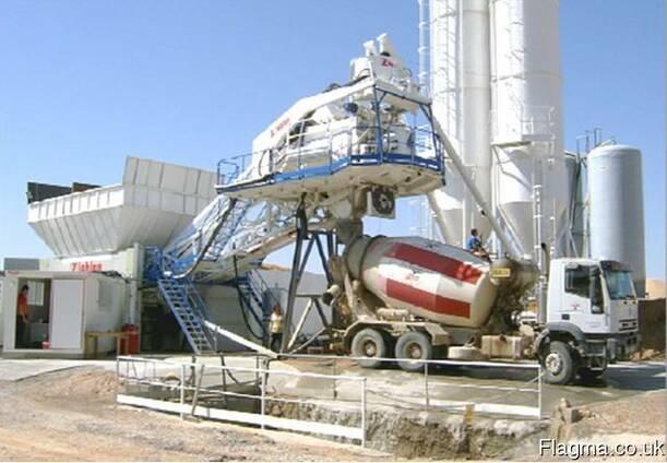 Б/У Мобильный бетонный завод Leblan Ctah-90