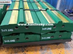 Blow Bars for Kleemann MR110Z EVO / MR130Z EVO / MR122Z / MR150Z / MR170Z Impact Crushers