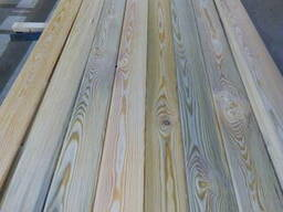 Board of larch. Raised from the bottom of the river in Russi - photo 2
