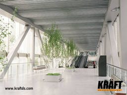 Designed suspended ceilings KRAFT from the manufacturer - photo 4