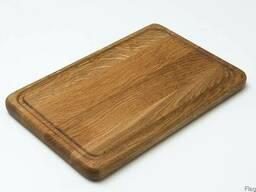 Доски разделочные, прямоугольные деревянные (дуб/ясень). - фото 2