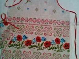 Фартуки, прихватки в украинском стиле, хлопок - фото 3