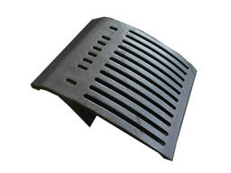 Grate plate