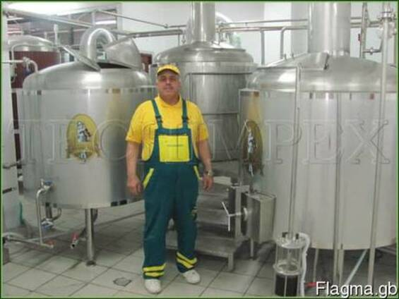 Microbrewery Blonder beer 3bbl (500 liters/day)