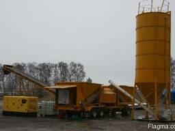 Мобильный бетонный завод LT 1200 (40 м3/час) Швеция - фото 3