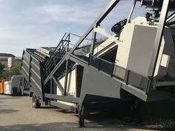 MVS 60MS 60m3/hour Mobile Concrete Batching Plant - photo 4