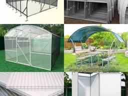 Production and sale of greenhouses