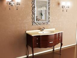 Set, cabinet mirror for home hotels and offices