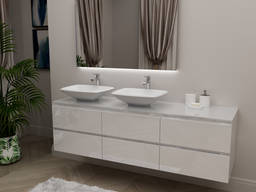 Set of bathroom furniture Nikolet