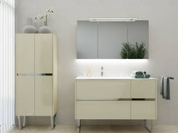 Price for a set, bedside table, wardrobe, mirror, sink