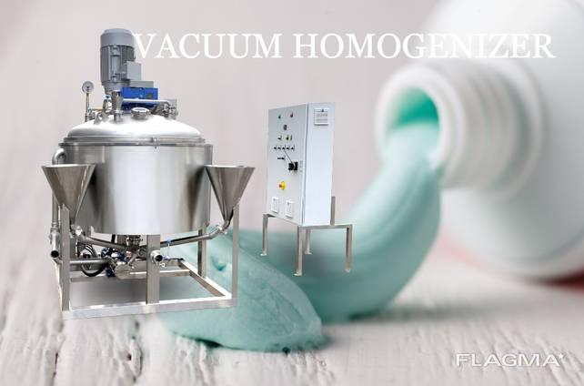 Toothpaste making Homogenizer Emulsifier