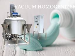 Toothpaste making Homogenizer Emulsifier