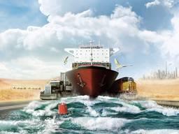 Transportation services, logistics services